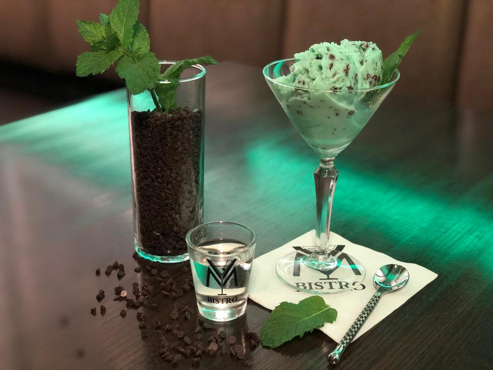 Mint Chocolate Vodka Ice Cream