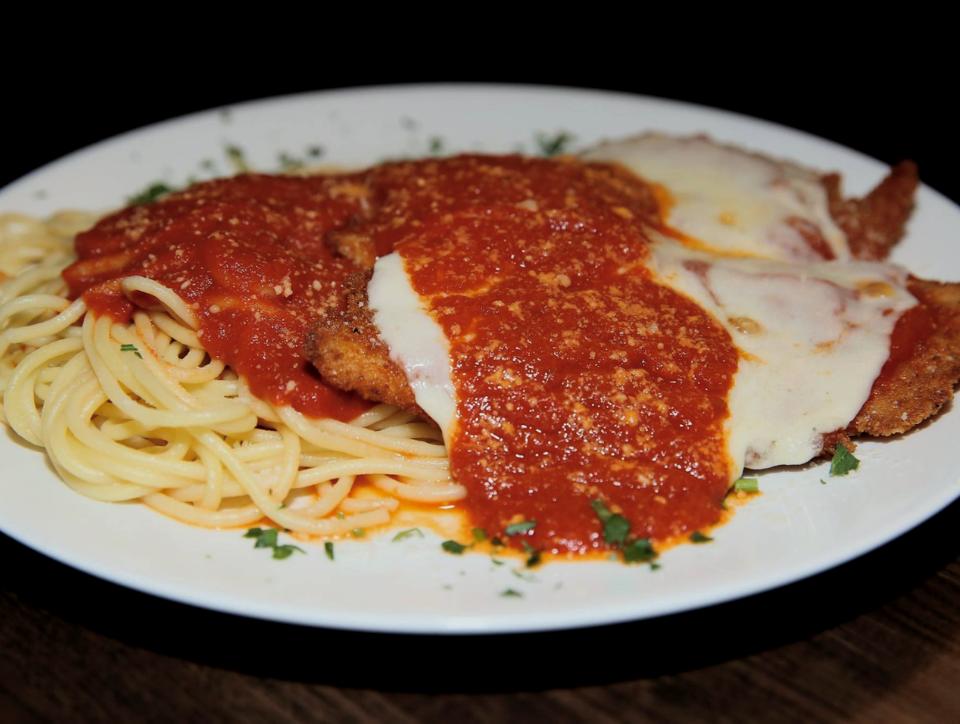 Chicken Parmesan from VM Bistro 2020