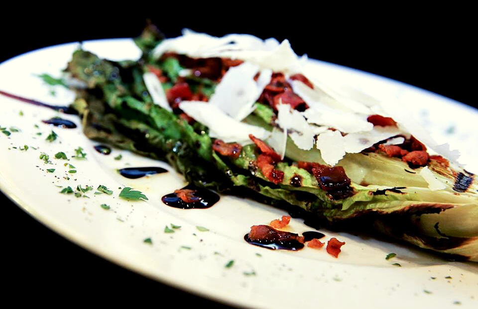 Grilled Romaine Salad from VM Bistro