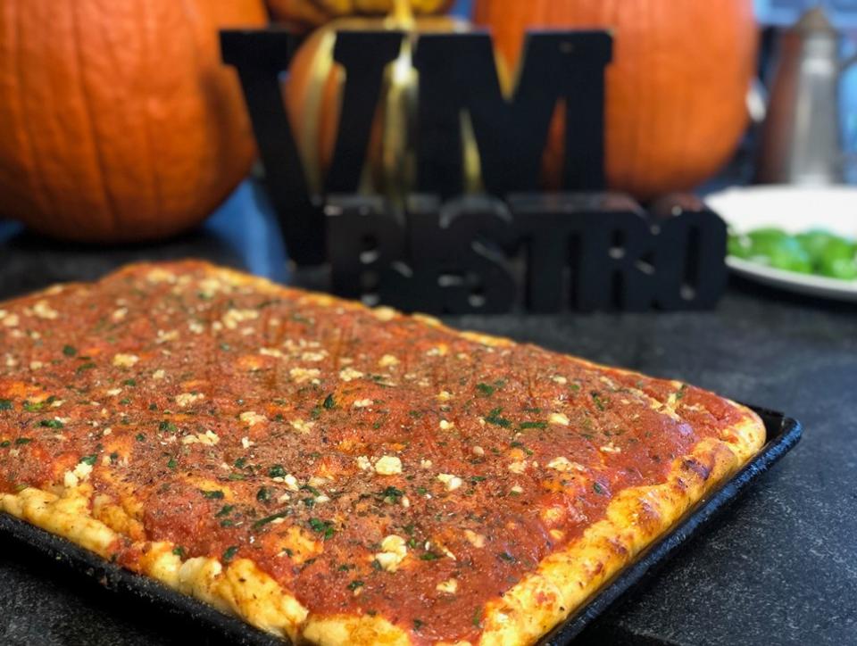 Tomato Pie from VM bistro 2020